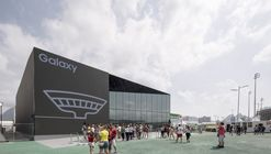 Samsung Galaxy Studio at Olympic Park / UNStudio