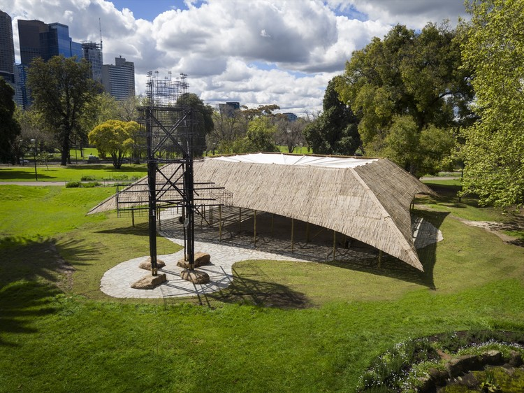 Bijoy Jain's 2016 MPavilion Opens in Melbourne, © John Gollings
