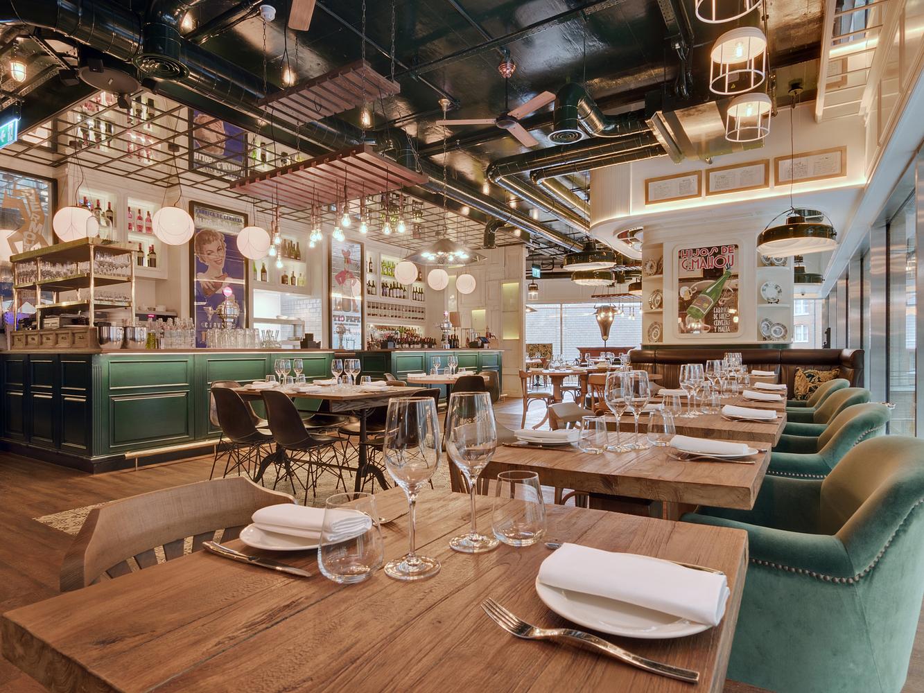 2016 restaurant bar design awards announcediberica victoria london uk