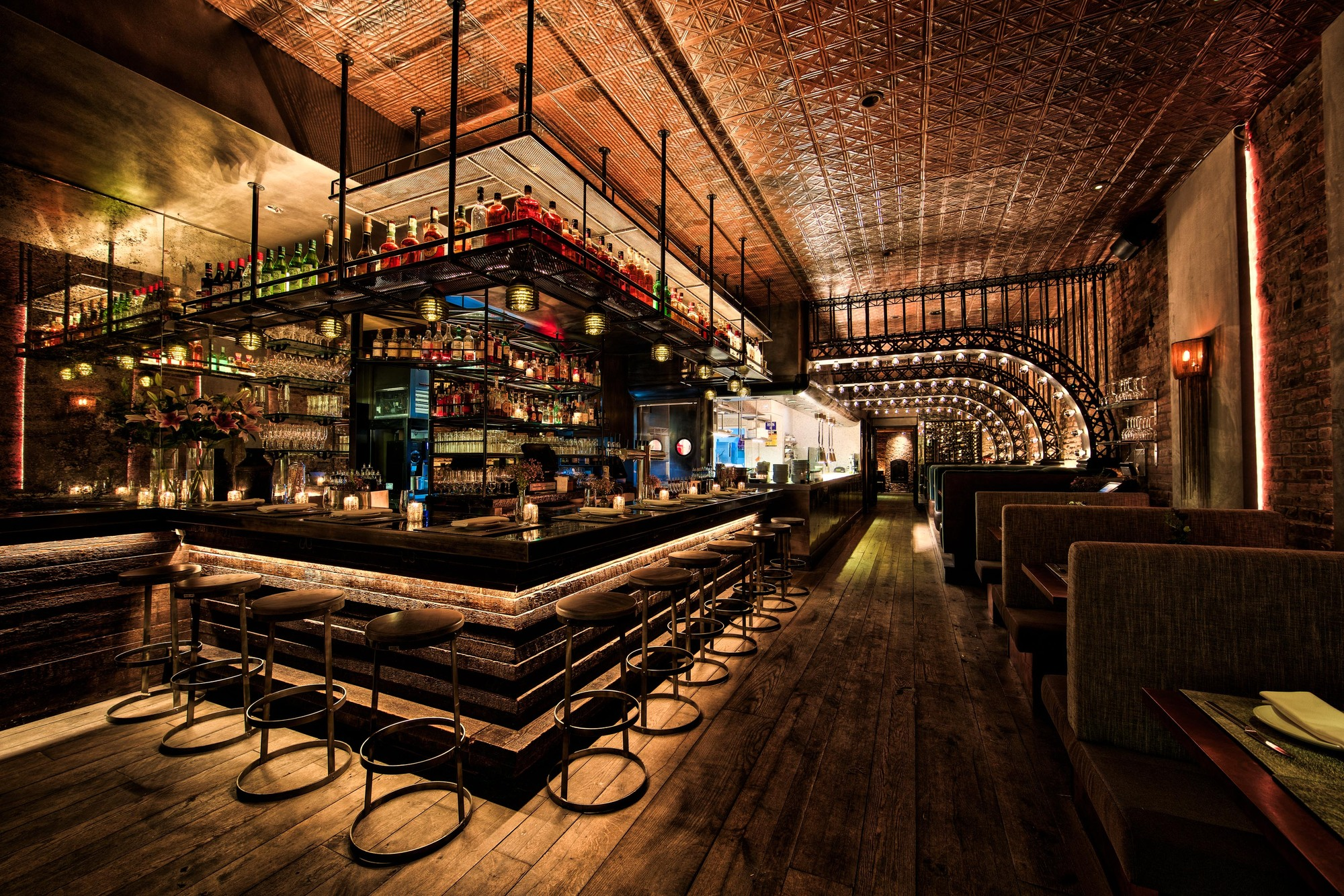 Delightful Bar Design Part - 8: Kat U0026 Theo (New York, USA) / Aviva Collective . Image Courtesy Of