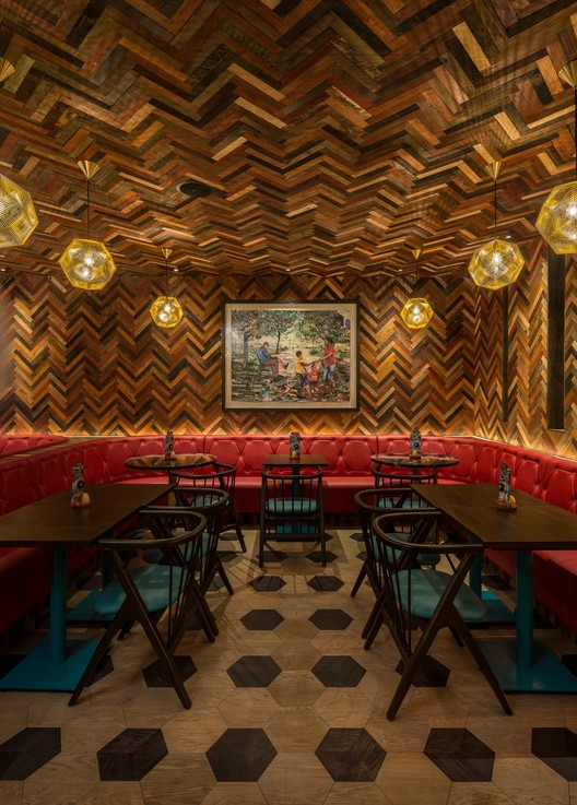 Nandos Old Street London UK Morenomasey Architects Interiors
