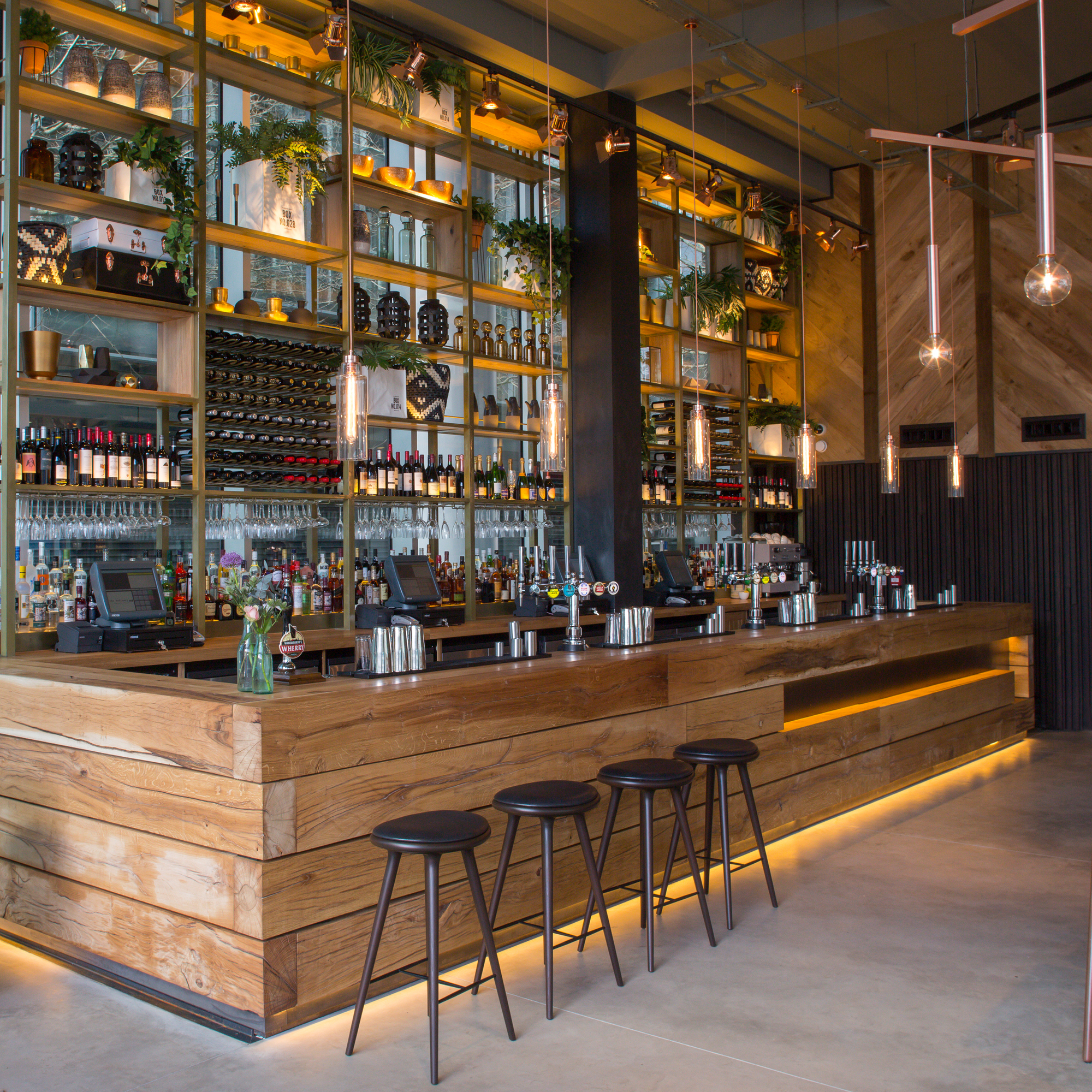 33 Inspiring Industrial Style Home Offices That Sport: Gallery Of 2016 Restaurant & Bar Design Awards Announced