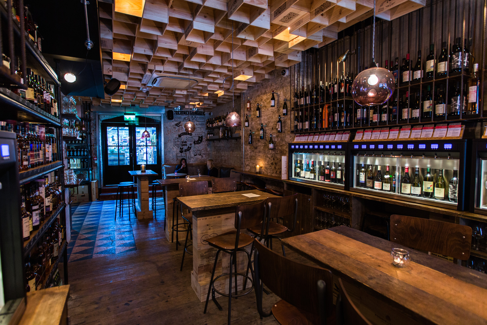 Vagabond Wines (Spitalfields, London, UK) / Finch Interiors. Image Courtesy  of