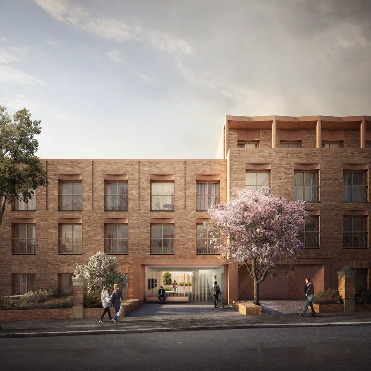 Affordable Pocket Apartments on Site of Former Office Building Secure Planning Permission in England , Courtesy of Gort Scott