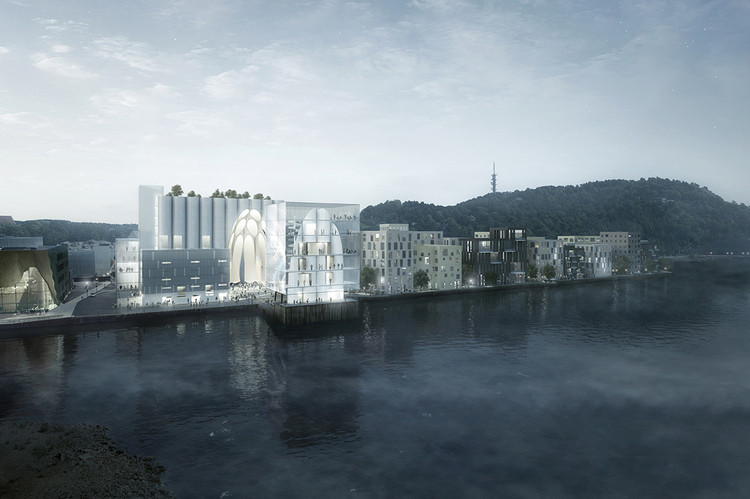 RSAA's Artcube Proposal Accentuates, Preservers, and Modifies Historical Silo in Norway, Courtesy of RSAA