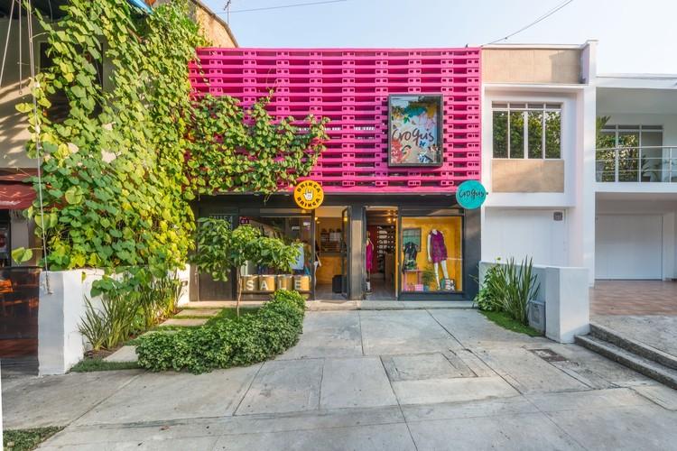 Casa Taller Croquis / Espacio Colectivo Arquitectos, © Santiago Robayo