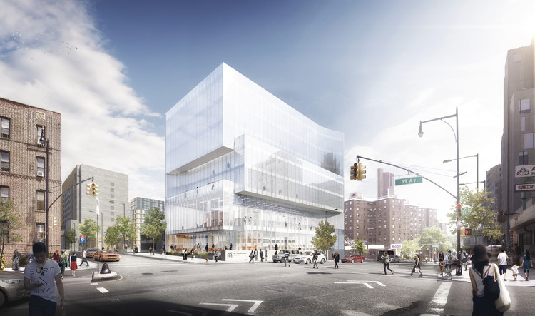 Leong Leong + JCJ Architecture Unveil Design of The Center for Community and Entrepreneurship in New York, Image: Luxigon
