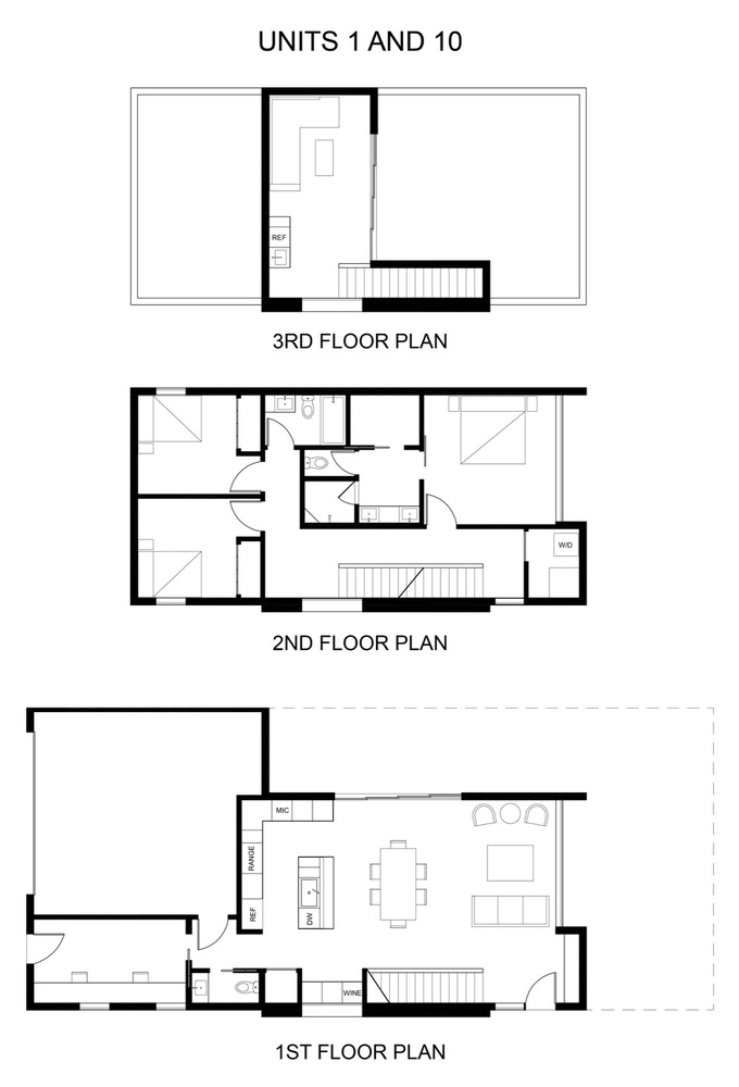 Gallery of Uptown Row / The Ranch Mine - 16 on 28x44 house plans, 20x25 house plans, 30 x 40 2 story pole barn house plans, 28x38 house plans, 14x18 house plans, 24x30 house plans, 30x24 house plans, 28x34 house plans, 16x36 house plans, 2 bedroom ranch floor plans, 8x12 house plans, 24x46 house plans, 36x24 house plans, 50x70 house plans, cottage house plans, 24x24 house plans, small modular homes floor plans, 24x32 house plans, 2 story saltbox house plans, 12x18 house plans,