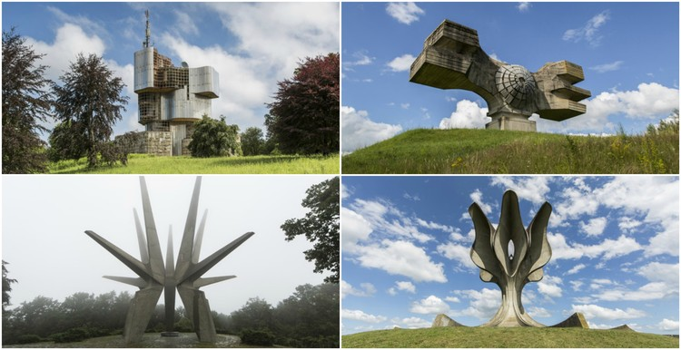 Jonk's Photographs Depict the Abandonment and Beauty of Yugoslavian Monuments, © Jonk