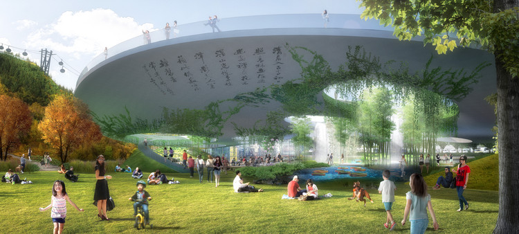 Urban Ecosystem Design Named Winner of Lion Mountain Park Competition, Courtesy of TLS Landscape Architecture