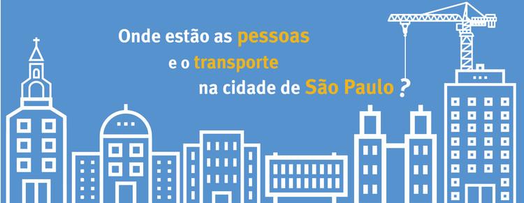 Onde estão as pessoas e o transporte na cidade de São Paulo?, © ITDP Brasil