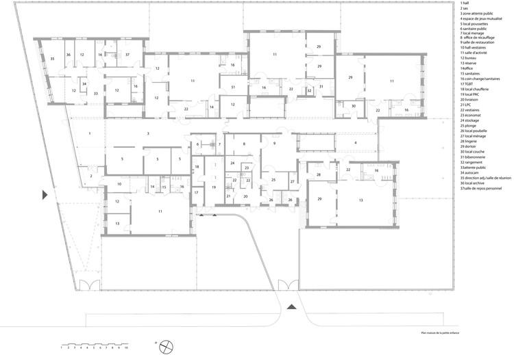 Maison De Lenfance Nomade Architectes Archdaily