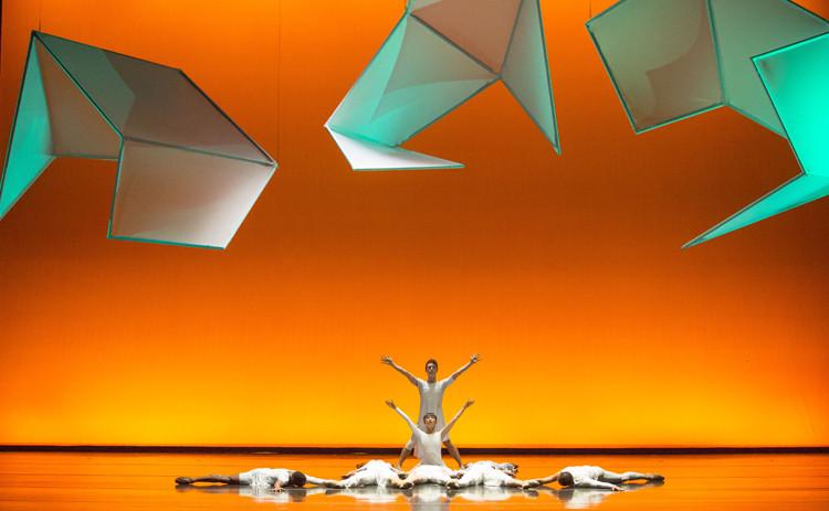 """""""Teseractos de tiempo"""" de Steven Holl y Jessica Lange exploran la relación entre la arquitectura y la danza, Cortesía de Steven Holl Architects"""