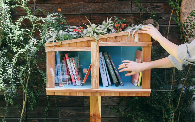 Little Free Library Design Competition, Courtesy of Unknown