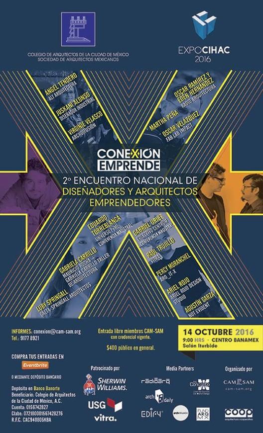 Conexión Emprende en EXPO CIHAC 2016 / Ciudad de México [¡Sorteamos 4 pases!]