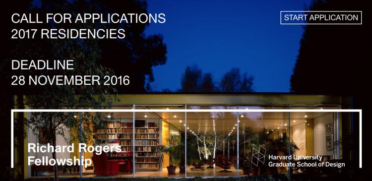 Call for Applications: Richard Rogers Fellowship 2017