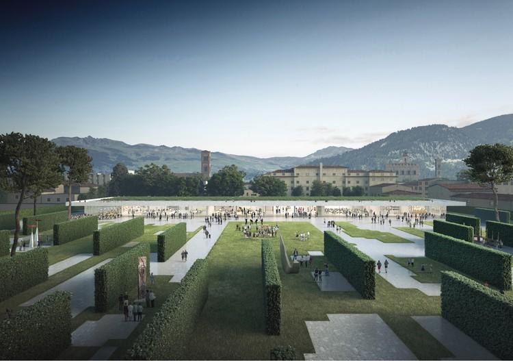 OBR with Michel Desvigne Wins Competition to Design New Central Park in Prato, Italy, © OBR Paolo Brescia and Tommaso Principi with Michel Desvigne Paysagiste