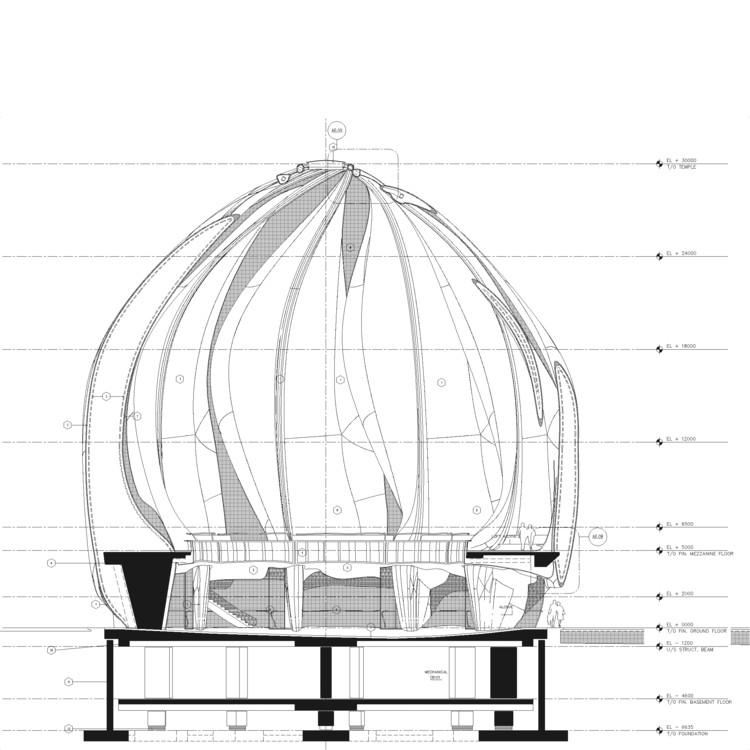 Baha I Temple Hariri Pontarini Architects Archdaily