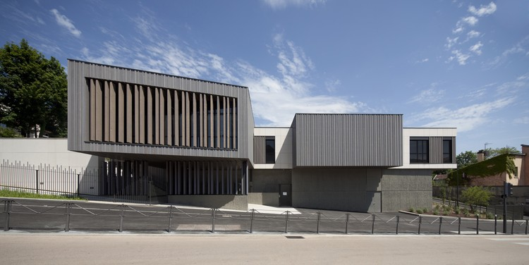 Escuela Central / Atelier Didier Dalmas, © Jérôme Ricolleau