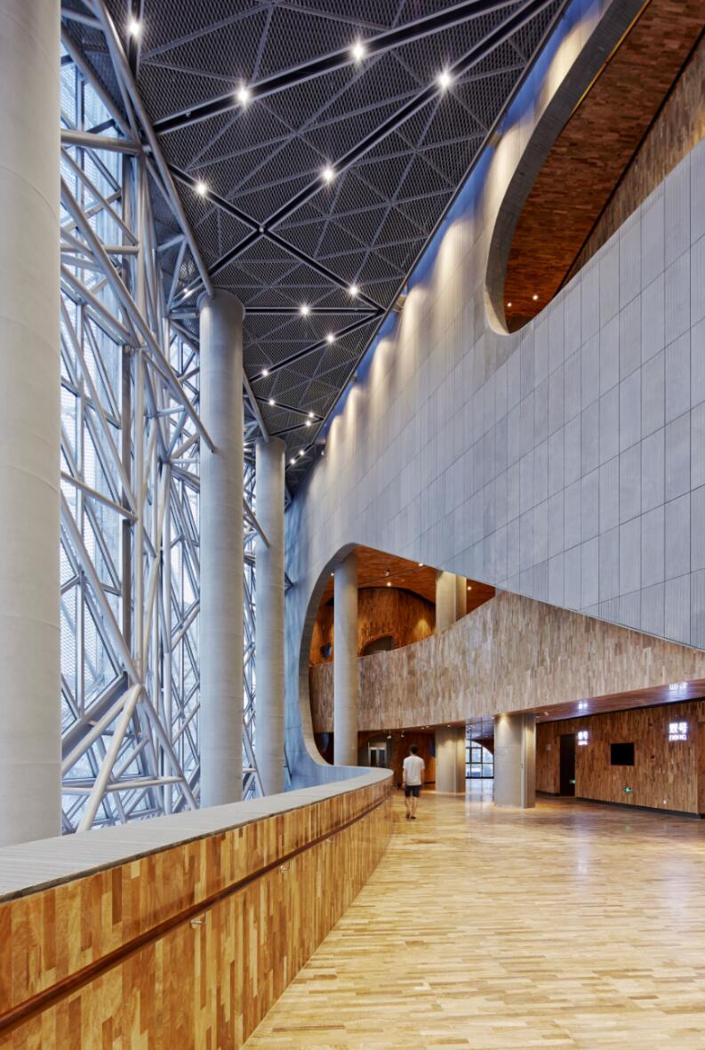 Shanghai Hongqiao Performing Arts Center Bau Archdaily