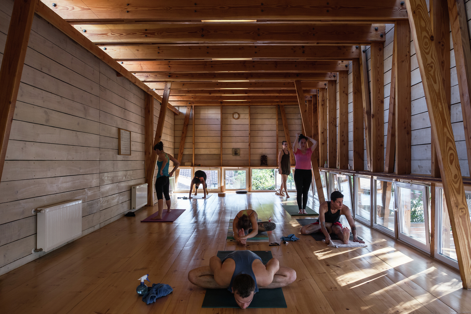 The key architectural elements required to design yoga and meditation spaces