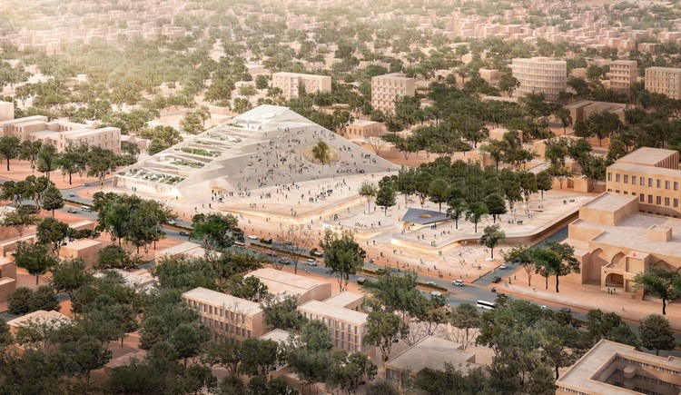 In Wake of Revolution, Francis Kéré Envisions a Transparent New Architecture for the Burkina Faso Parliament Building, Courtesy of Kéré Architecture