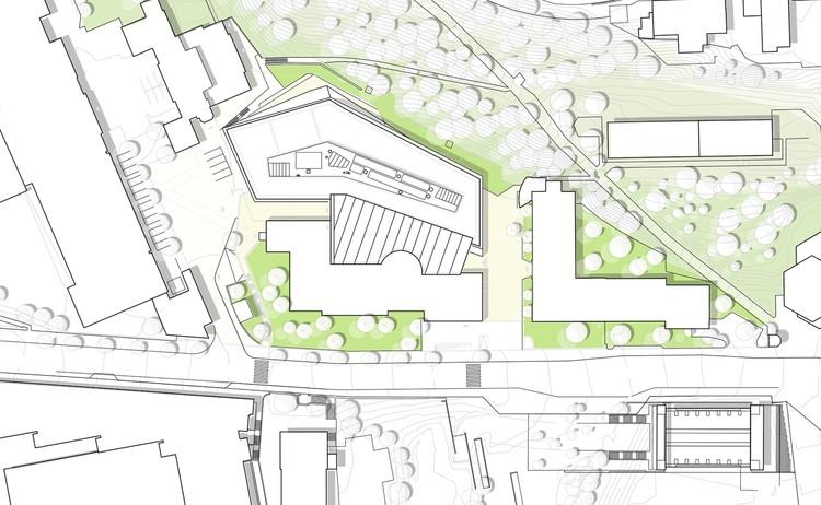 Behnisch Architekten Breaks Ground On Cancer Research Center In Switzerland Archdaily