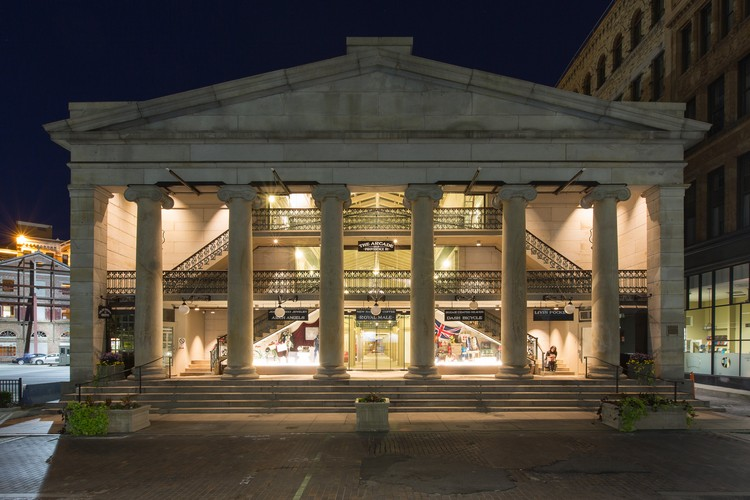 America's Oldest Shopping Mall has been Transformed into Micro-Units, via Business Insider. Image © Ben Jacobsen/Northeast Collaborative Architects