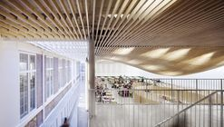 Bruyère High School Cafeteria Refurbishment / SAM Architecture