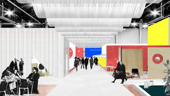 """Office KGDVS Create """"Silver Lining"""" Scenography for Kortrijk's 25th Biennale Interieur"""