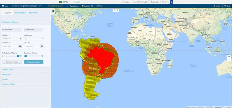 INPE disponibiliza imagens de alta resolução para auxiliar no planejamento urbano das cidades brasileiras, via INPE