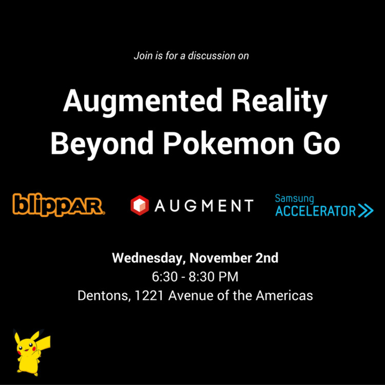 Augmented Reality Beyond Pokemon Go, Courtesy of Unknown