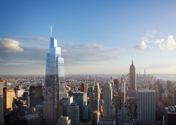 New York's Future Second Tallest Tower Breaks Ground, Courtesy of SL Green Realty Corp