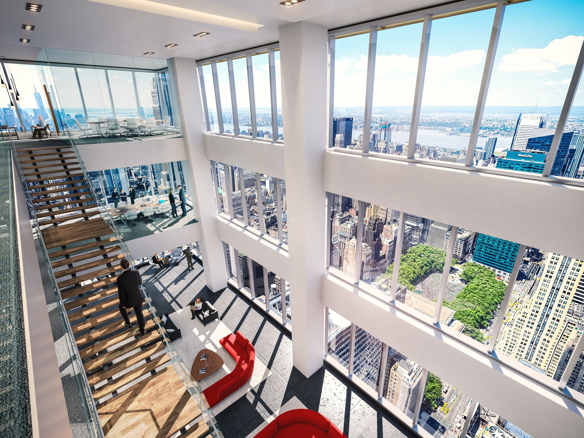 Galeria de come a a constru o da segunda maior torre de for Woodworks design office 9