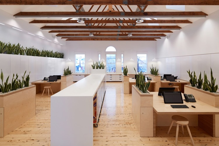 Birkenstock australia melbourne design studios archdaily for Award winning office interiors