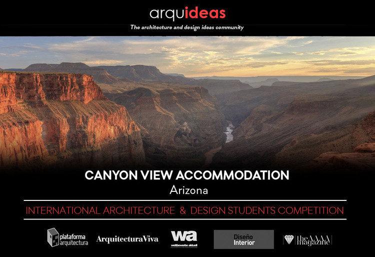 Concurso Canyon View Accommodation (CaVA) Arizona, Arquideas
