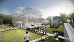 Arquitectura en Estudio + Nieto Arquitectos, primer lugar en concurso Colegio Santa Francisca Romana