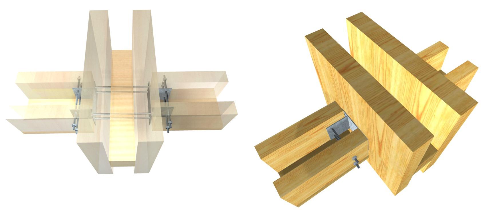 Galer a de 15 herrajes met licos para conectar estructuras de madera laminada arauco 9 - Estructuras de madera laminada ...