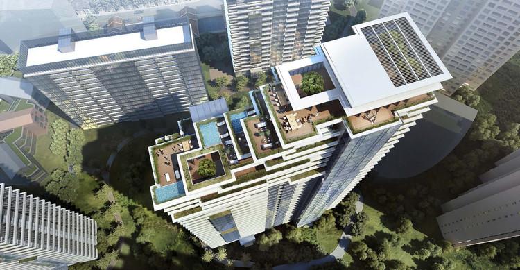 Citic Pacific High Rise Development In Shanghai