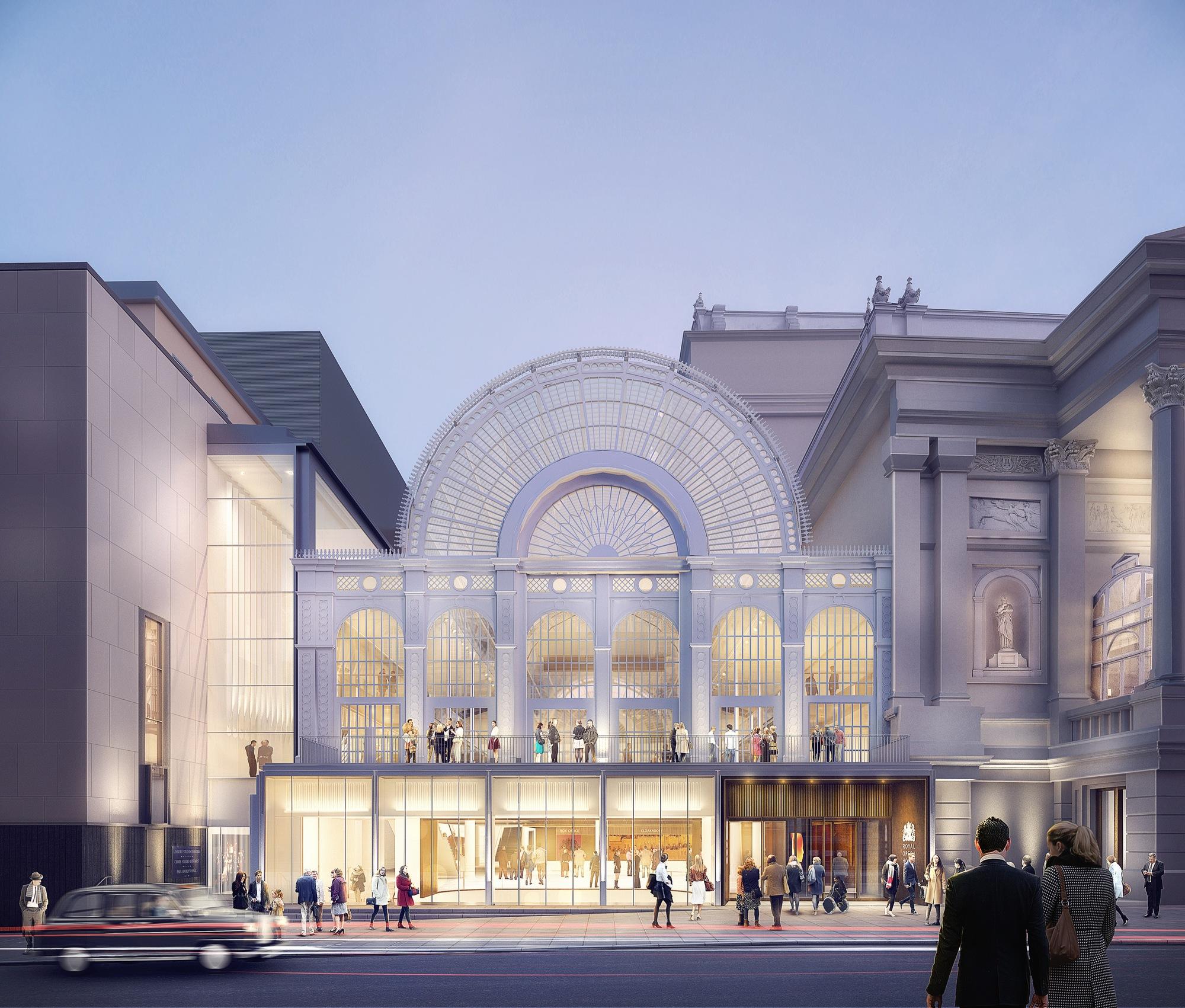 Stanton Williams revela novas imagens da renovação da Ópera de Londres