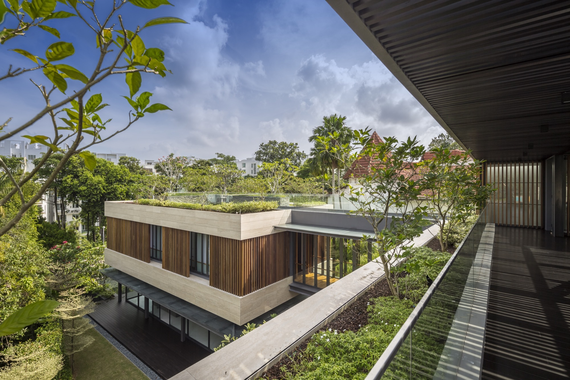 Gallery of secret garden house wallflower architecture for Home garden design singapore