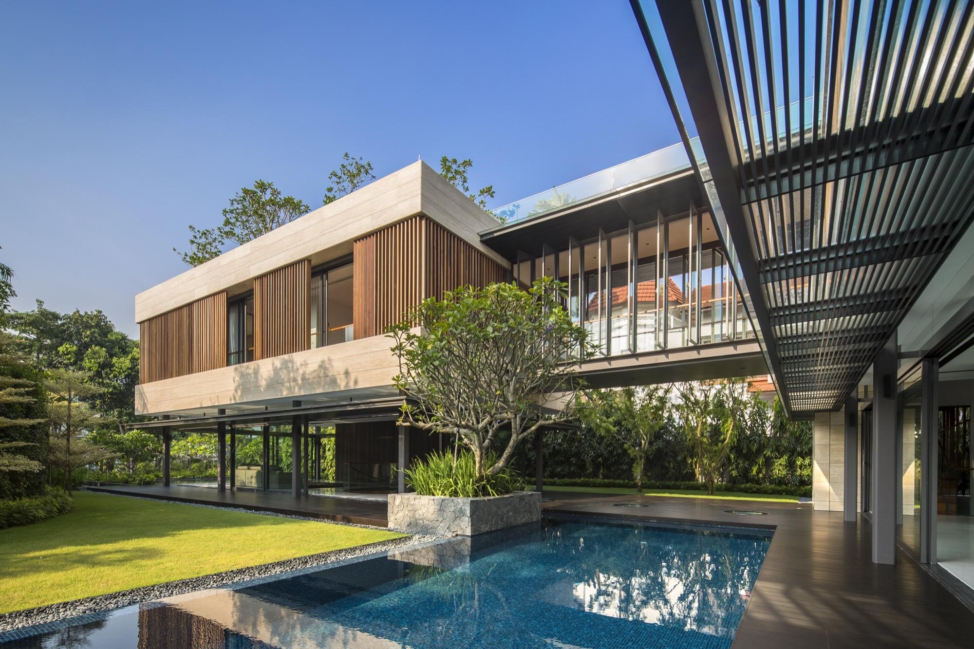 580820ece58ece68aa00021d Secret Garden House Wallflower Architecture Plus Design Photo on Mediterranean Interior Architecture