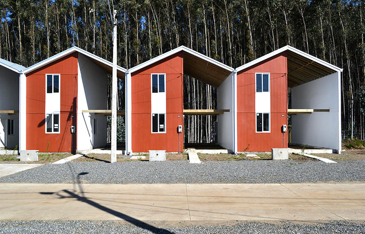 Half A House Builds A Whole Community: Elemental's Controversial Social Housing, Villa Verde in Constitución, Chile by Elemental. Image via 99 Percent Invisible