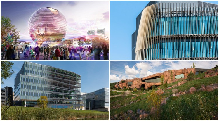 AIA Announces Recipients of Innovation Award, ©Adrian Smith + Gordon Gill Architecture, © Keitaro Yoshioka, © Mortenson Construction, © Dana Wheelock