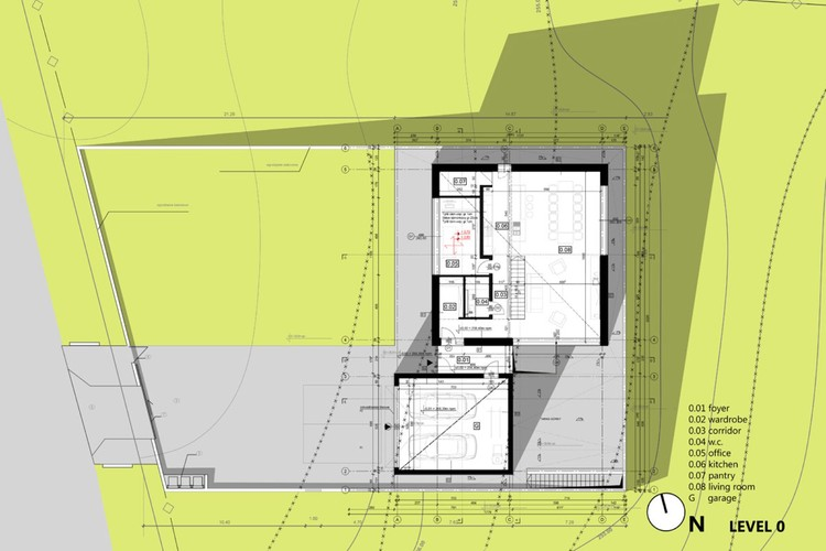 House in krostoszowice rs archdaily for 100 floor level 58