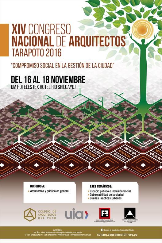 CONARQ: XIV Congreso Nacional de Arquitectos Tarapoto 2016 'Compromiso Social en la Gestión de la Ciudad', CAP SAN MARTIN