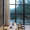 Returning hut fm x interior design archdaily for Hae yong interior designs