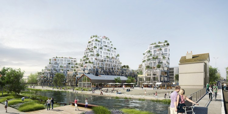 Mvrdv Wins Competition In France With Residential