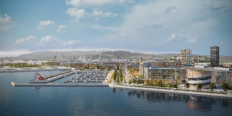 Adjaye Associates seleccionados para rediseñar el astillero de San Francisco, San Francisco Shipyard. Imagen cortesía de Adjaye Associates