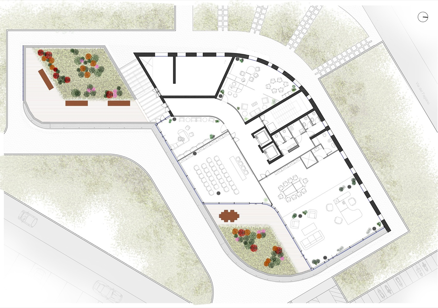 office building floor plan. Forti Holding Spa HQ And Office Building Floor Plan Gallery Of  ATIproject 21
